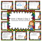 Wonders First Grade Unit 1 Week 3