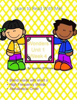Wonders Unit 1 Week 4