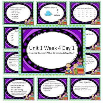 Wonders First Grade Unit 1 Week 4