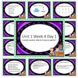Wonders First Grade Unit 1 Week 4