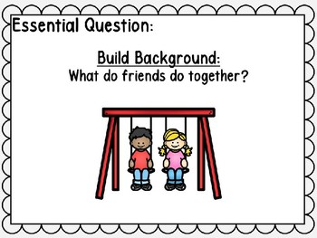 Wonders Unit 1 Week 4 POWER POINT. Friends All Around. First Grade.
