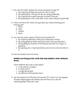Wonders Unit 1 Week 4 Study Guide
