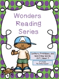 Wonders, Unit 1, Week 5, 1st Grade, Centers, Printables, and Word Wall Words