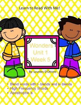 Wonders Unit 1 Week 5