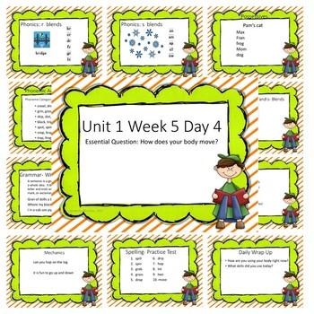 Wonders First Grade Unit 1 Week 5