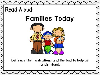 Wonders Unit 1 Week 5 Power Point Families Work! Second Grade