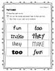 Wonders Unit 1 Weeks 1-5 Complete Sight Word Activities - Grade 1 BUNDLE