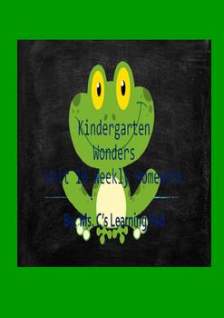 Wonders Unit 10 Reading/Math Homework Bundle