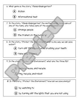 Wonders Unit 10, Week 3 Assessment