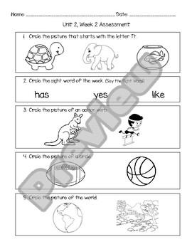 Wonders Unit 2 Assessment Bundle