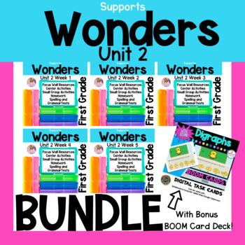 Wonders Unit 2 Bundle First Grade