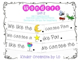 Reading Wonders High-Frequency Word Sentence Strips (Unit 2)