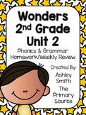 Wonders Unit 2 Homework