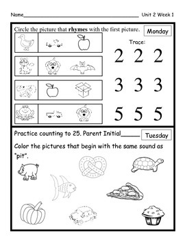 Wonders Unit 2 Homework Bundle