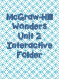 McGraw-Hill Wonders Grade 3 Unit 2 Interactive Reading Notebook
