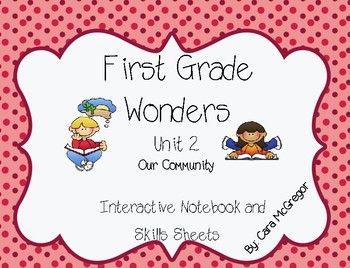 Wonders Unit 2 Interactive Notebook