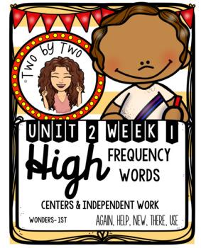 Wonders Unit 2 Week 1 HFWs