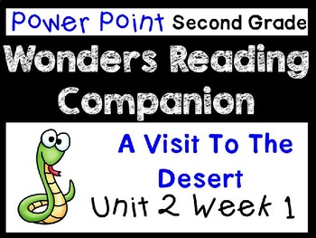 Wonders Unit 2 Week 1 Power Point. A Visit to the Desert. Second Grade.