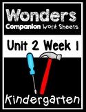 Wonders Unit 2 Week 1 The Handiest Things Centers/Workshee