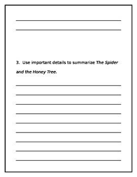 Wonders Unit 2 Week 2 Second grade leveled reader questions
