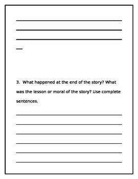 Wonders Unit 2 Week 2 Second grade leveled reader questions