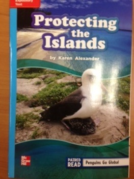 3rd Grade Wonders Unit 2 Week 4 On Level Reader Protecting the Islands Reponse