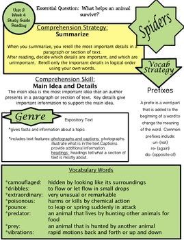 Wonders Unit 2 Week 4 Study guide