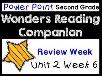Wonders Unit 2 Week 6 Power Point. Review Week. Second Grade.