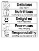 Wonders G1 Unit 3.5: From Farm to Table Printables & Display Graphic Organizers