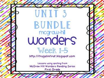 Wonders Unit 3 Bundle