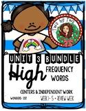 Wonders Unit 3 HFWs Bundle