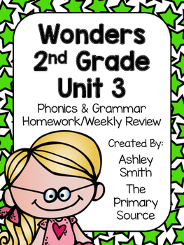 Wonders Unit 3 Homework