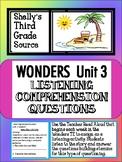 Wonders- Unit 3 Listening Comprehension