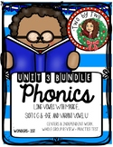 Wonders Unit 3 Phonics Bundle