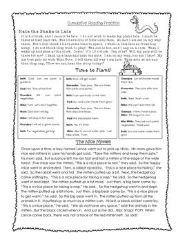 Wonders Unit 3 Review Homework Packet
