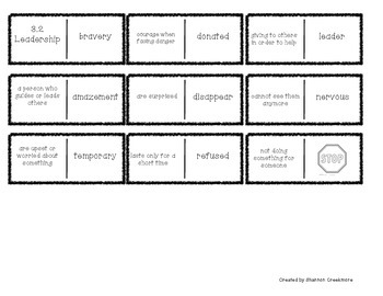 Wonders Unit 3 Vocabulary Dominoes (McGraw-Hill)