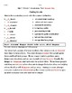 McGraw Hill Wonders Unit 3  Weeks 1-5 Vocabulary Test or Practice Third Grade