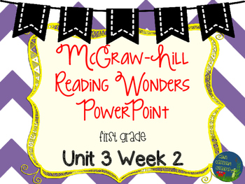 Wonders Unit 3 Week 2 PowerPoints