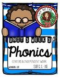 Wonders Unit 3 Week 3 Phonics: Soft c, g, -dge