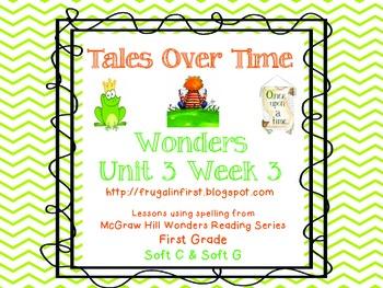 Wonders Unit 3 Week 3: soft c and soft g