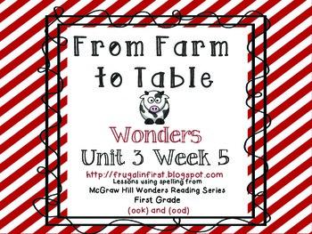 Wonders Unit 3 Week 5 Short U: /oo/