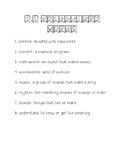 Wonders Unit 3 Week 5 Weekly Vocabulary Page