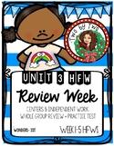 Wonders Unit 3 Week 6 HFWs Review Week