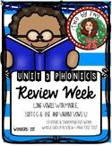 Wonders Unit 3 Week 6 Review Phonics