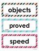 Wonders Unit 3 Weeks 1-5  Second Grade  Vocabulary Words