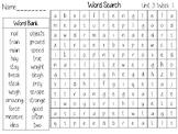 Wonders Unit 3 Word Search Grade 2