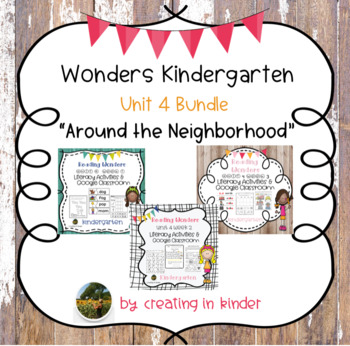 Wonders Unit 4 Bundle Distant Learning