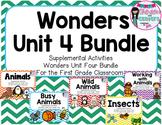 Wonders Unit 4 Bundle-Supplemental Activities for First Grade