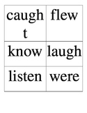 Wonders: Unit 4 High Frequency Word Cards