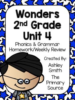 Wonders Unit 4 Homework
